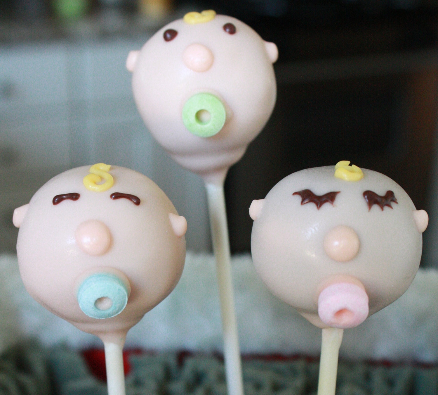 baby shower cake pops by sweetpopsshop on etsy