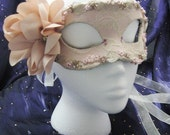 Pale Nectar Handmade Leather Masquerade Mask