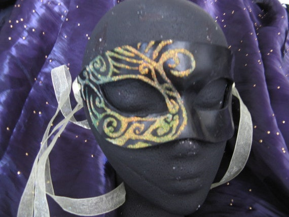 Vanth Handmade Leather Masquerade Mask