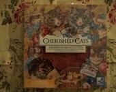 Cherished Cat rubber stamp set