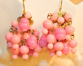 Vintage Bubblegum Earrings