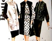 60s Vintage Sewing Pattern - 1960s Coat and Dress - Butterick 2942 UNCUT Bust 36