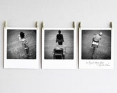 Black and White Photography Collection Postcard Vintage China / Fine Art / Artwork / Ping Yao / 4x4.5 (three prints 10x12 cm)
