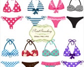 8 Pretty bikinis - Personal Or Small Commercial Use (P005)