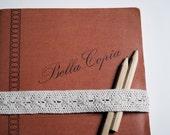 Vintage italian notebook - unused address book