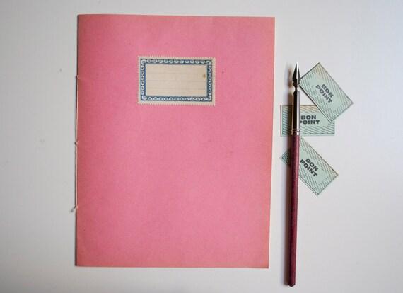 Vintage french notebook - unused