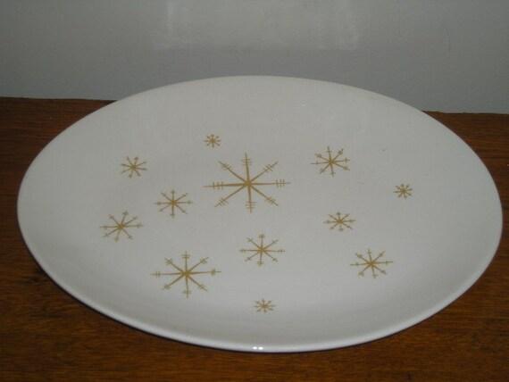 Royal China Ironstone Star Glow Series Platter