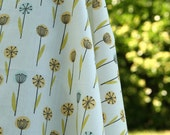 Cloud 9 My Happy Garden Meadow Organic Cotton fabric, 7/8 yard
