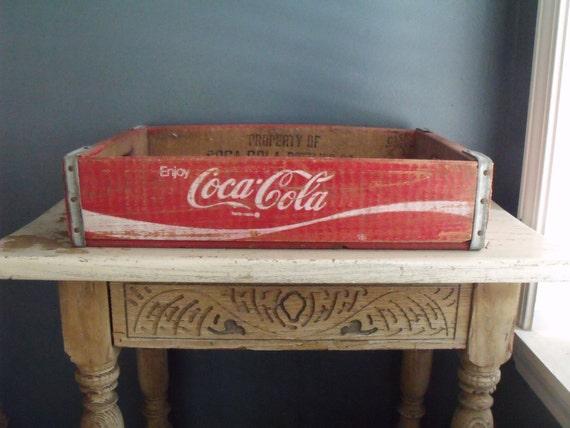 Coca Cola Wooden Crate Vintage