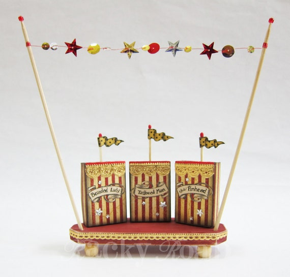 Tiny Circus Midway Sideshow