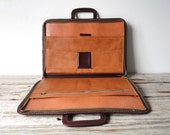Dark Red Portfolio Briefcase