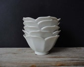 Stack of 4 Lotus Bowls