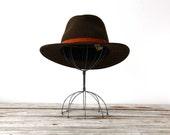 Vintage Boho Outback Wool Hat