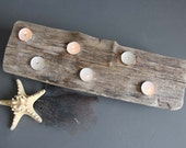 Gorgeous Driftwood Slab Tea Light Candle Holder.  Table Centerpiece