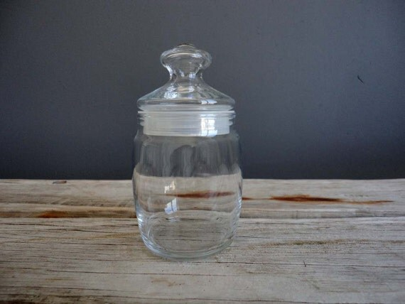 Small Glass Display Jar