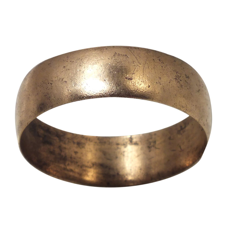 Viking Bands: Antique Wedding Ring Ancient Viking Man York UK 866-1067A.D