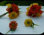 Bright Spring Gerb Bouquet