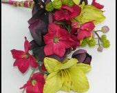 Jewel Tone Wedding Bouquet