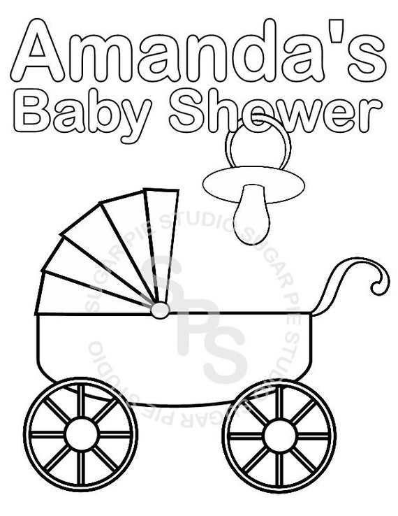 Personalized Printable Baby Shower