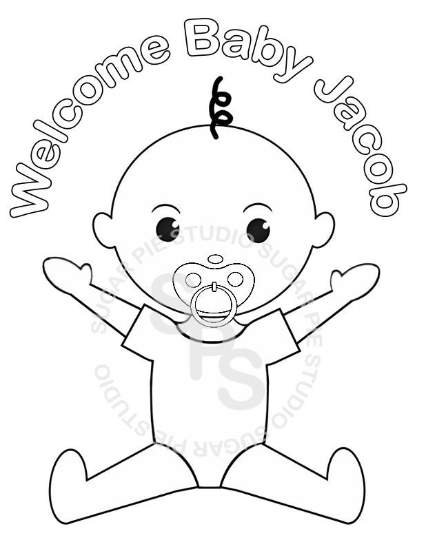 baby rattle coloring pages photo28