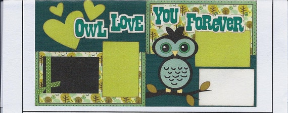 Scrapbook page kits- RETIRED-  LIMITED EDITION