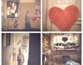The Love Train Postcard Set