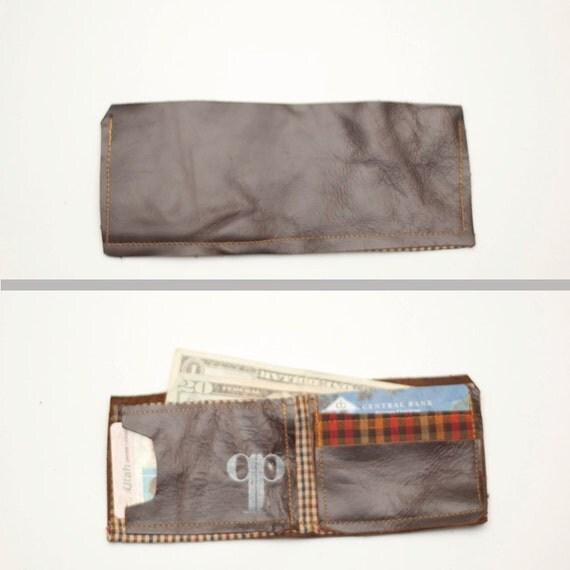 Handmade Leather Bi-Fold Wallet