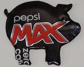 Pig Magnet - Pepsi Max Cola Soda Can