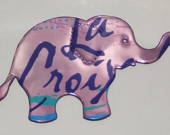 Elephant Magnet - Pink Berry La Croix Soda Can (Replica)