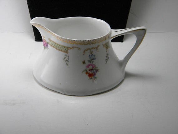 Vintage Cream Pitcher Made in Bavaria by Z.S. & Co.