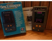 Space Invaders Hand Held Arcade Game, Entex Electronics 1981