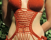 "Crochet Swimsuit ""Victoria"" Monokini"
