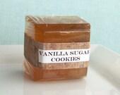 Vanilla Sugar Cookies Glycerin Soap - butter - caramel - honey - vanilla