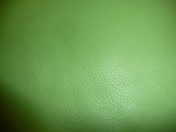 "8""x10"" Avocado Green Pebbly Grain KING Leather Hide for crafting on PeggysueAlso Limited Supply"