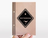 notebook diamond bird - pastel rose - limited edition
