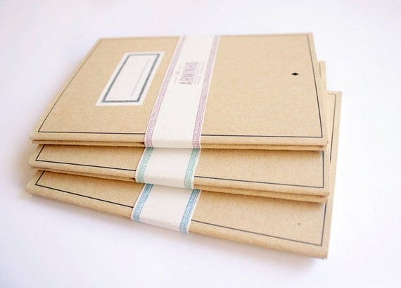 notebook - blank - school - pack of 2 - LOT6003