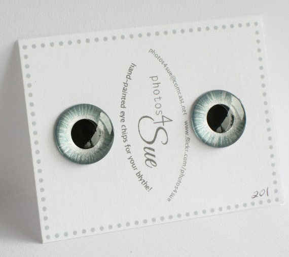 Hand Painted Eye Chips for Blythe No. 201