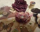Altered Art Supply Kit,Scrapbooking, vintage, creative, mixed media, ephemera