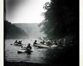 5x5 Kayaking Print