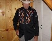 Boots Men's Western Shirt - Size S/M