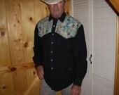 Mallards Men's Western Shirt - Size M/L