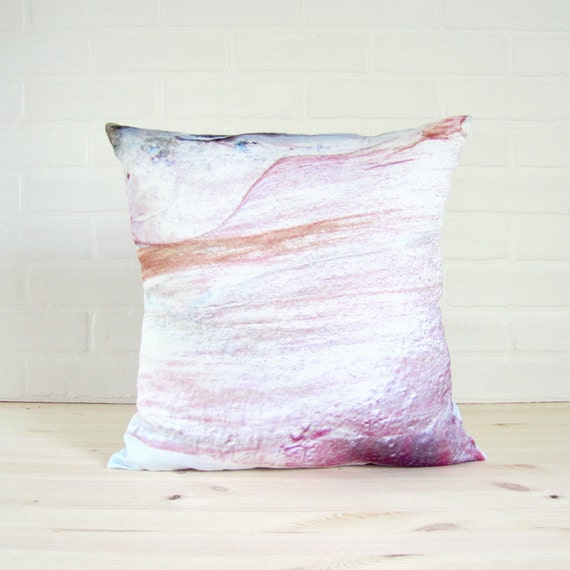 "Pillow Cover 16x16 - ""I'm Feelin' Pearly in Pink"" -"