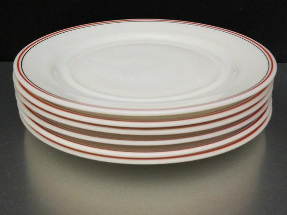 Hazel Atlas Vintage Dinner Plates