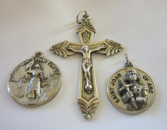 Vintage joan of arc jewelry