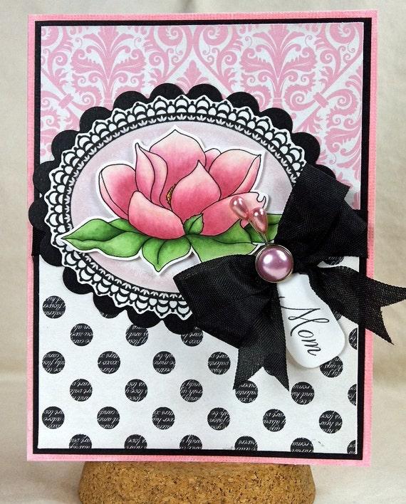 Mom Handmade Greeting Card