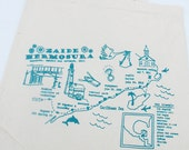 RESERVED FOR Kate Clark - - - Handmade Custom Wedding Welcome Tote Bags