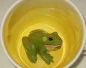 Frog Surprise Mug (Made to Order)