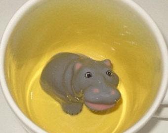 Hippopotamus mug (Made to Order)