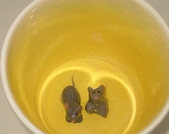 Mice Surprise Mug (Made to Order)