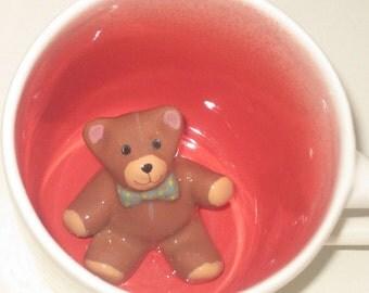 Brown Teddy Bear Surprise Mug (Made to Order)